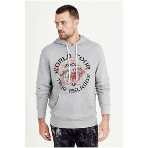 True Religion Men's Pullover Hoodie Sweatshirt